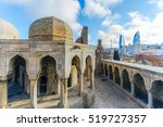 Old City In Baku On The...
