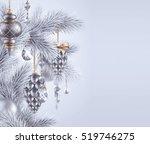 digital illustration  silver... | Shutterstock . vector #519746275