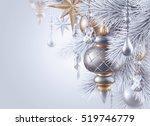 digital illustration  silver... | Shutterstock . vector #519746779
