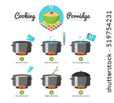 step by step set icons... | Shutterstock . vector #519754231