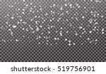 eps10. vector falling snow... | Shutterstock .eps vector #519756901