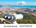Touristic Telescope Look At Th...