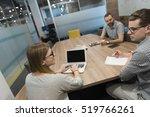 startup business team... | Shutterstock . vector #519766261