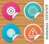 round stickers or website... | Shutterstock .eps vector #519767479