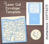 lasercut vector wedding... | Shutterstock .eps vector #519773275