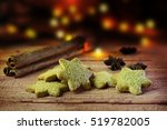 Christmas Biscuits In Star...