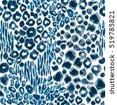 animal leopard pattern... | Shutterstock . vector #519785821
