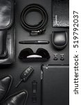 man accessories in business...   Shutterstock . vector #519792037