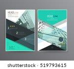 business template for brochure  ... | Shutterstock .eps vector #519793615