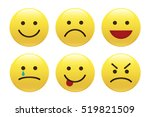 Set Of Emoticons  Icon Pack ...