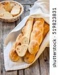 "baguette with original molding ""... | Shutterstock . vector #519823831"
