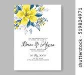 Wedding Invitation Card With...