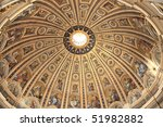 Vatican  Golden Ceiling Of The...