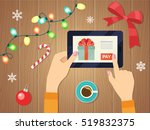 merry christmas and happy new... | Shutterstock .eps vector #519832375