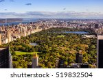 Aerial View Over New York...