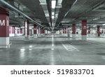 empty underground parking garage | Shutterstock . vector #519833701