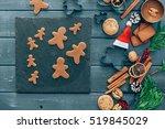Baking Christmas Cookies....