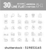 vector set graphic logo  icon.... | Shutterstock .eps vector #519853165