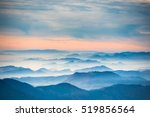 sunset in the mountains.... | Shutterstock . vector #519856564