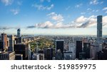 panorama over new york  with...   Shutterstock . vector #519859975
