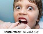 girl pulls a tooth | Shutterstock . vector #519866719