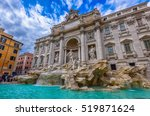 Rome Trevi Fountain  Fontana D...
