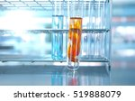 test tubes glassware with... | Shutterstock . vector #519888079