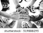 college students teamwork... | Shutterstock . vector #519888295