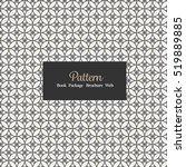vector seamless pattern... | Shutterstock .eps vector #519889885