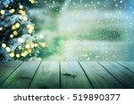 christmas table background | Shutterstock . vector #519890377
