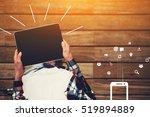top view shot of a woman... | Shutterstock . vector #519894889