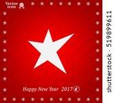 star   vector icon | Shutterstock .eps vector #519899611