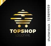 online shop cart vector logo.... | Shutterstock .eps vector #519899959
