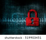 vulnerable network security... | Shutterstock .eps vector #519903451