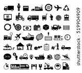 vector logistics export icon...   Shutterstock .eps vector #519904909