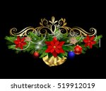 christmas elements for your... | Shutterstock .eps vector #519912019