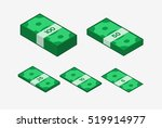image of money. colored  icon.... | Shutterstock . vector #519914977