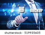 backup technology concept. | Shutterstock . vector #519935605