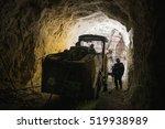 gold mining underground | Shutterstock . vector #519938989