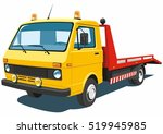 vector isolated yellow tow... | Shutterstock .eps vector #519945985