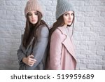 a hipster casual girls with...   Shutterstock . vector #519959689