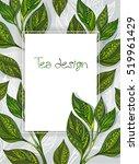 white rectangular banner with... | Shutterstock .eps vector #519961429