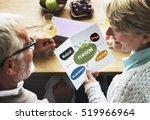 senior investment pension... | Shutterstock . vector #519966964