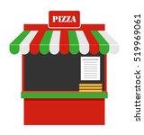 illustration showcase of sale... | Shutterstock . vector #519969061