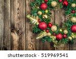 christmas border from christmas ...   Shutterstock . vector #519969541