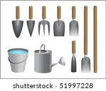 collection of tools for a use... | Shutterstock .eps vector #51997228