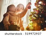 merry christmas and happy... | Shutterstock . vector #519972937