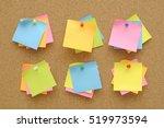6 Set Colorful Of Sticky Notes...