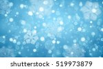 christmas background with white ... | Shutterstock . vector #519973879