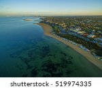 aerial view of sunrise at... | Shutterstock . vector #519974335